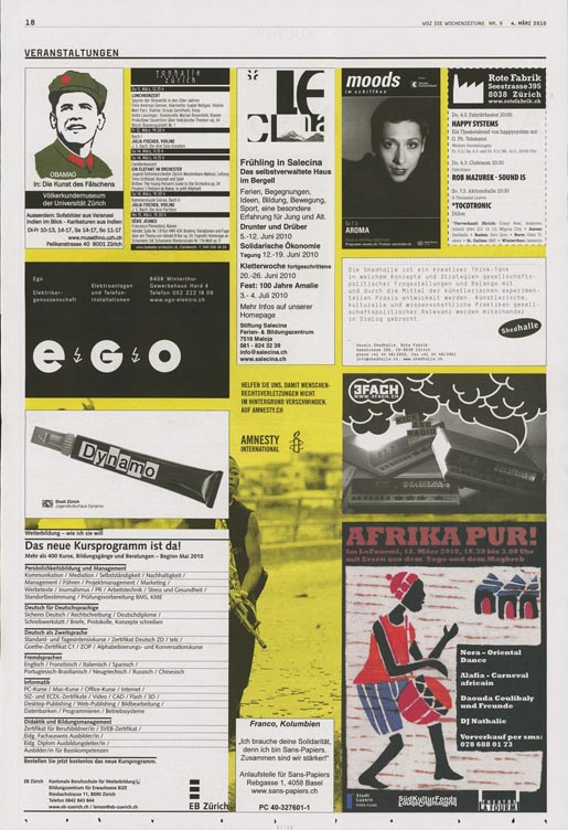 Amnesty Classifieds