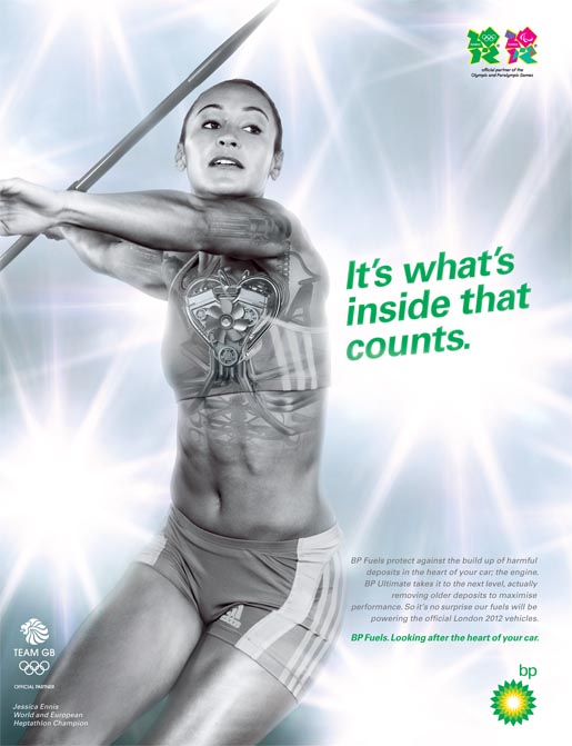 BP Fuels Heart Jess Ennis