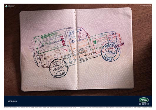 Land Rover Defender Passport