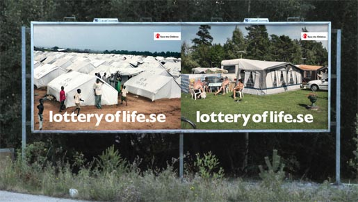 Lottery of Life Tents