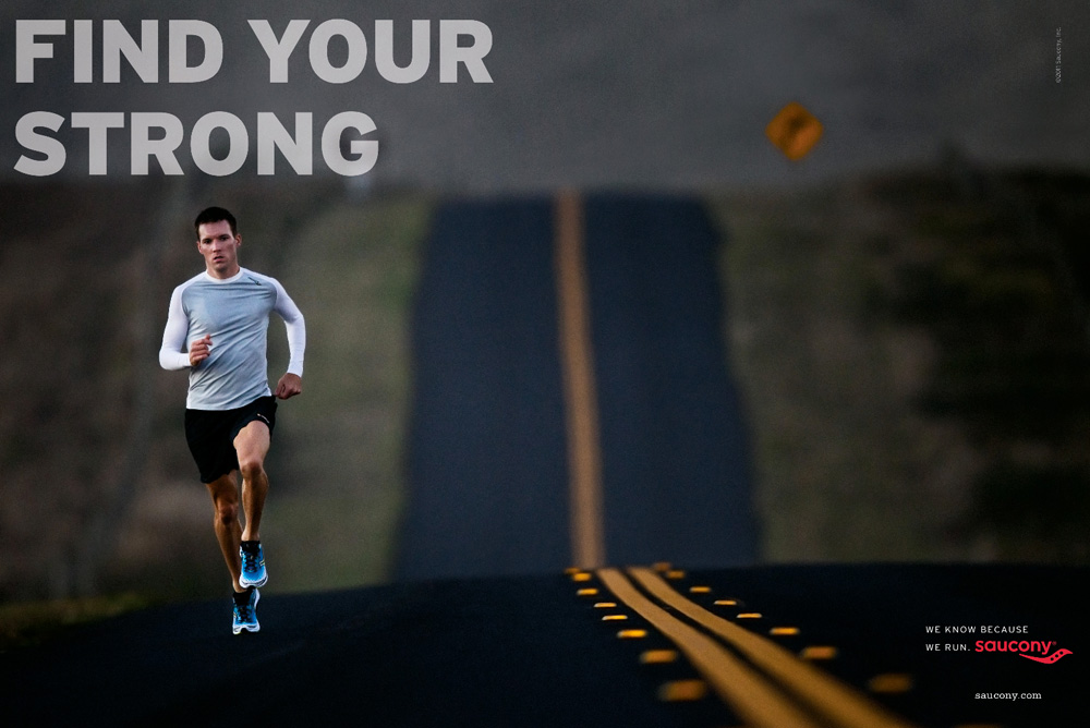 Saucony Find Your Strong - The Inspiration Room