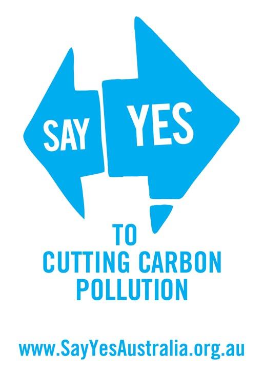 Say Yes to Cutting Carbon Pollution poster