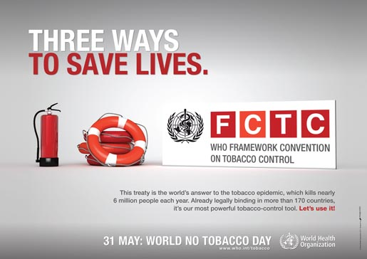 World No Tobacco Day 2011 poster