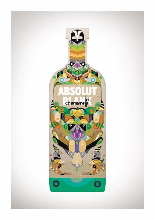 Absolut Blank Chamarelli