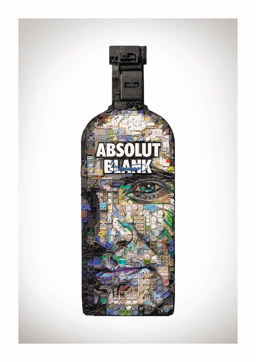 Absolut Blank Freeman
