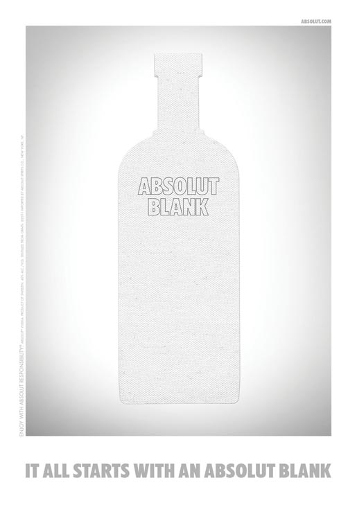 Absolut Blank Wood