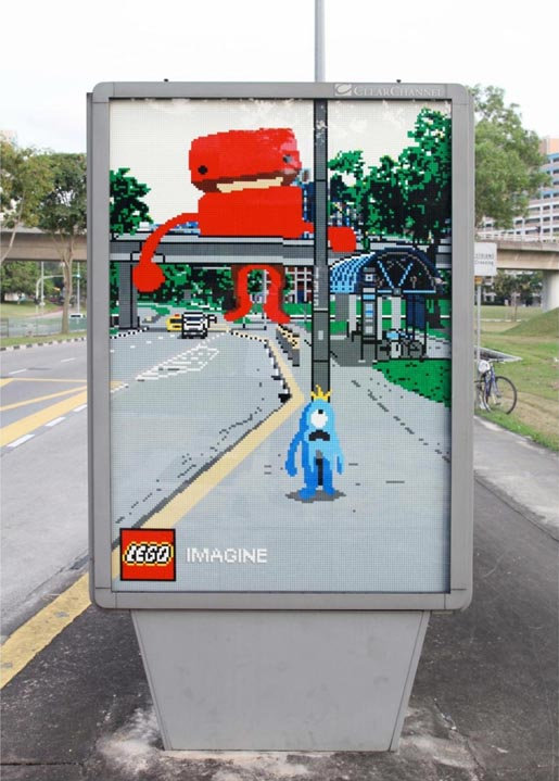 Lego Imagine Monster