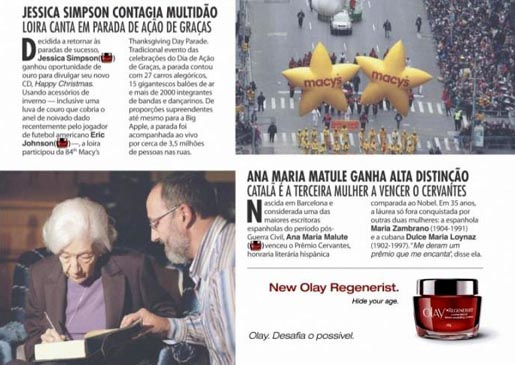 Olay Regenerist Ages campaign