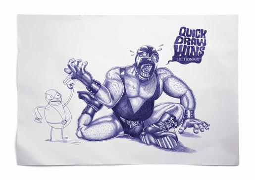 Pictionary Quick Draw Wins Wrestler