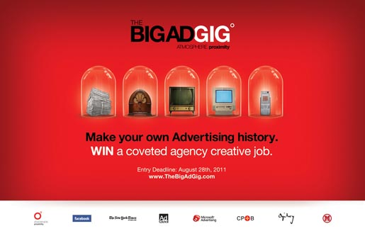 The Big Ad Gig - Make Your Own Advertising History