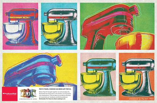 Kitchen Aid Pop Art