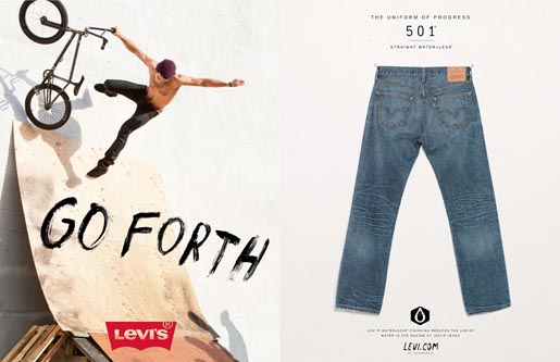 Levi's Go Forth Now Is Our Time - Fireworks
