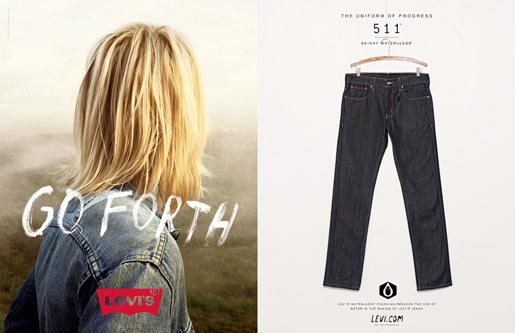 Levi's Go Forth Now Is Our Time - Jeans