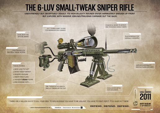 Eagle Awards 6-Luv Sniper Rifle
