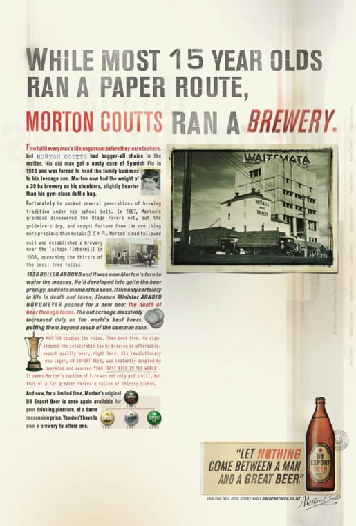 DB Export - Morton at 15 Years Old Runs a brewery