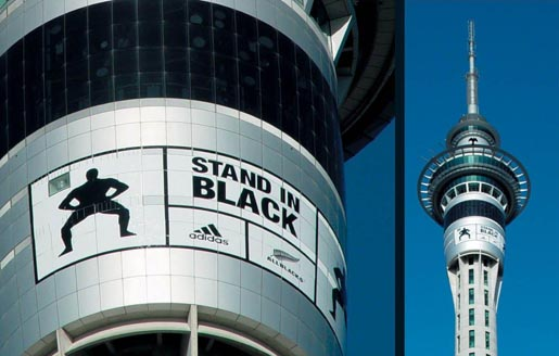 Stand In Black Sky Tower