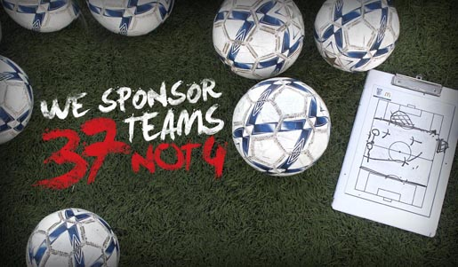 Vauxhall Sponsor 37 Teams