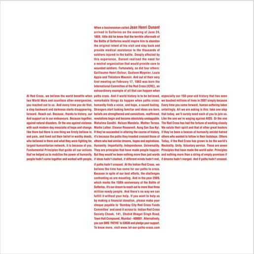 Red Cross Henry Dunant print ad