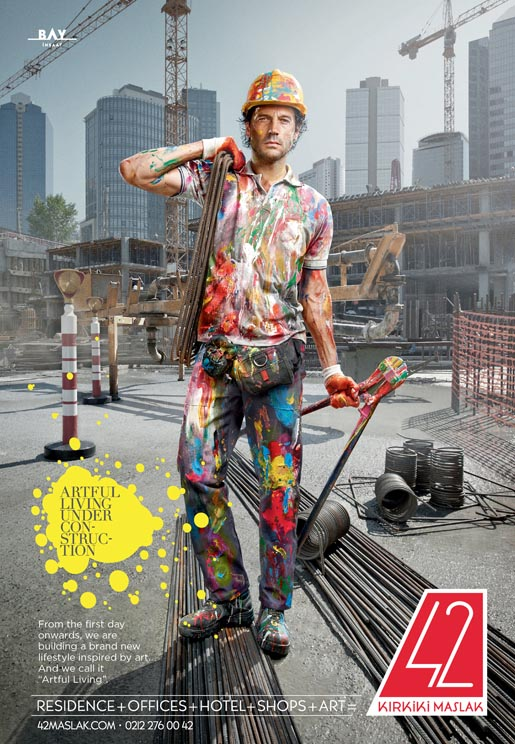 Artful Living Construction worker