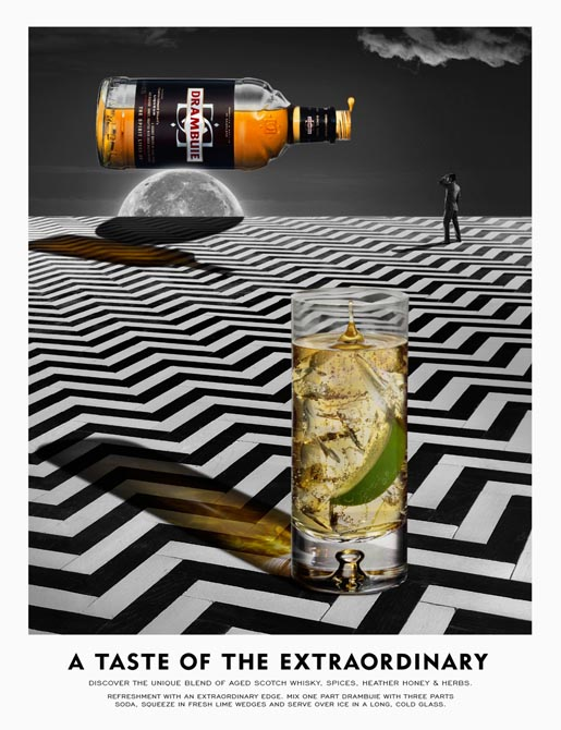 Drambuie Taste of the Extraordinary print ad