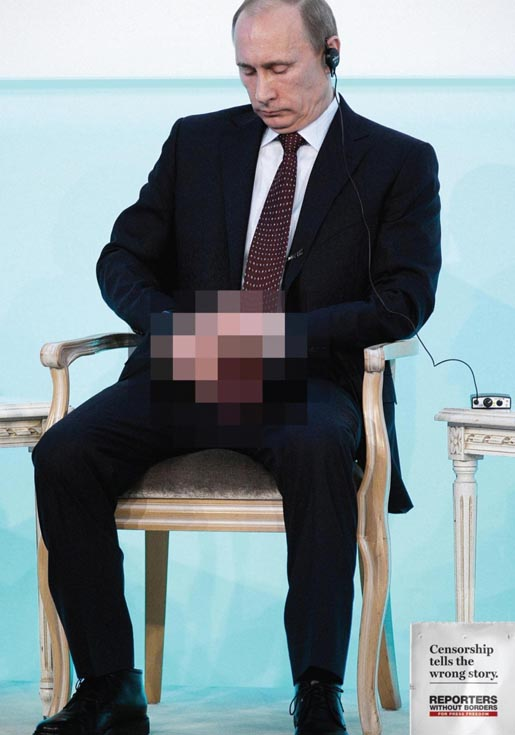 Reporters Without Borders Vladimir Putin