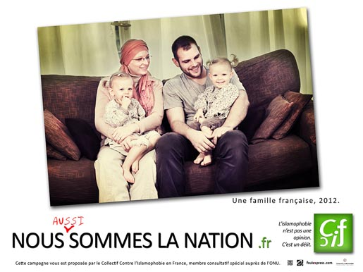 CCIF French Family poster