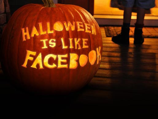 Halloween is like Facebook