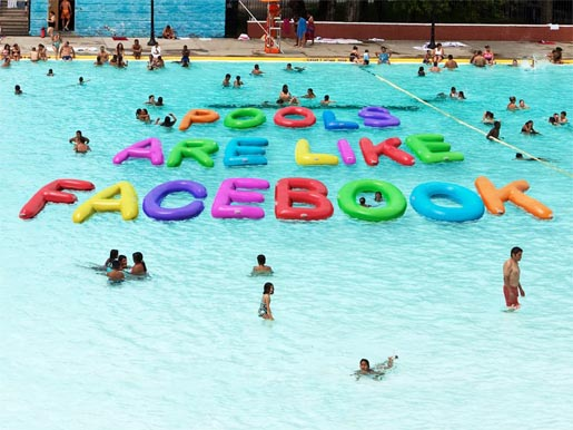 Pools are like Facebook