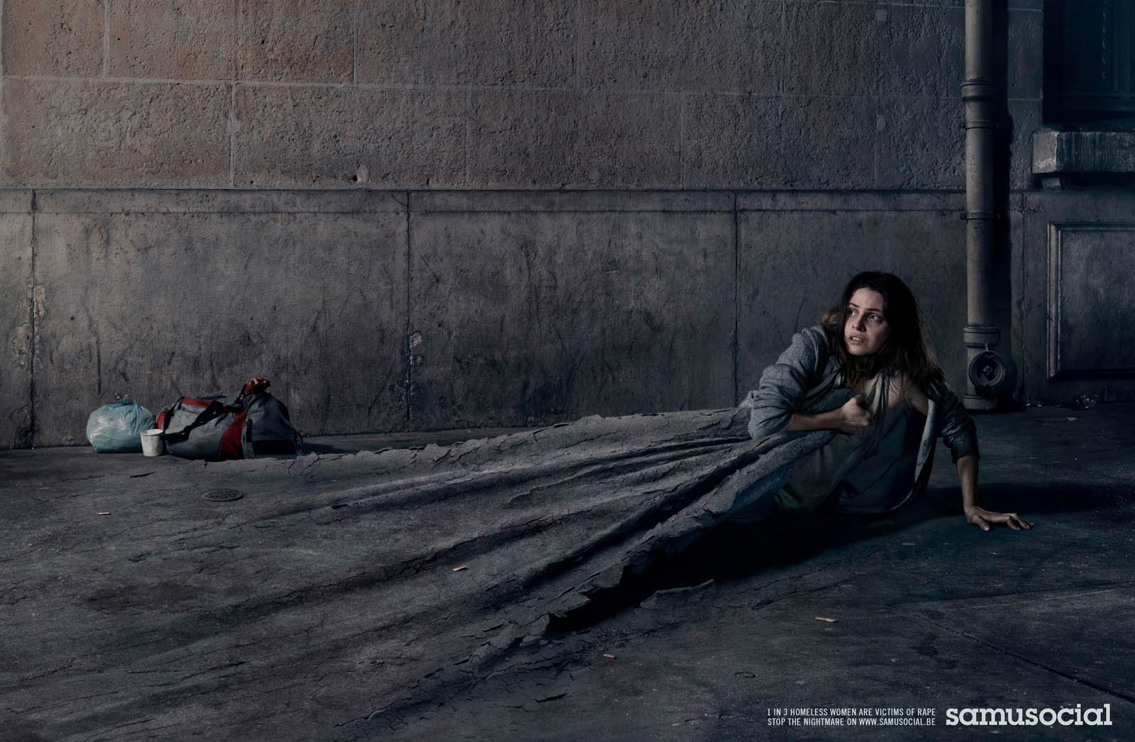 homelessness and print ad Helping the homeless : 10 brilliant ads from around the world homelessness in south africa this print ad from the salvation army ran throughout south africa.