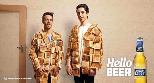 Carlton Dry Hello Beer Toast Jacket