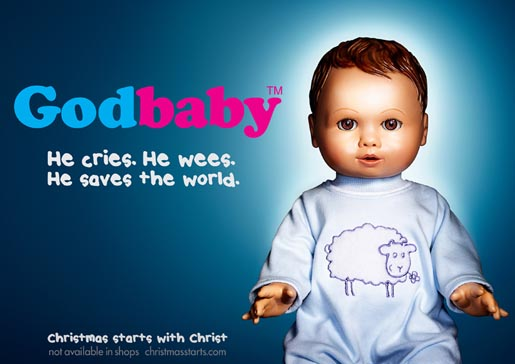Godbaby Billboard