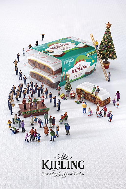 Mr Kipling Miniature Salvation Army