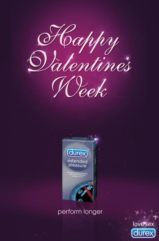 Durex Happy Valentines Week