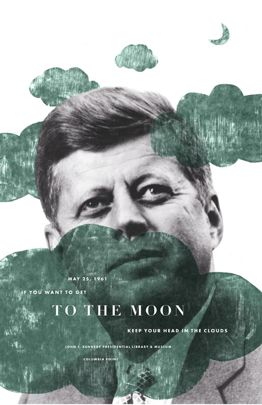 JFK To The Moon