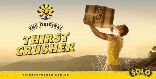 Solo Man Thirst Crusher Billboard