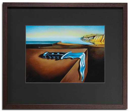 Art Against Knives Salvador Dali framed