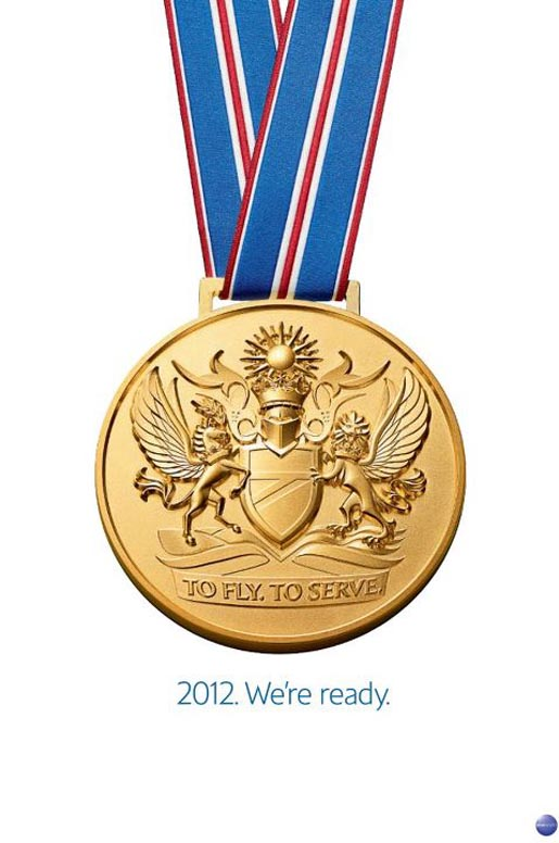 British Airways Ready for 2012 Medal