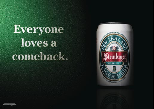 Steinlager We Believe - Everyone Loves A Comeback
