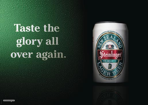 Steinlager We Believe - Taste The Glory