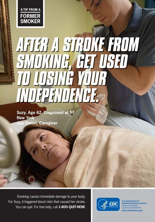 Tips from Former Smokers - Stroke