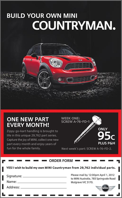 Build Your Own Mini Countryman