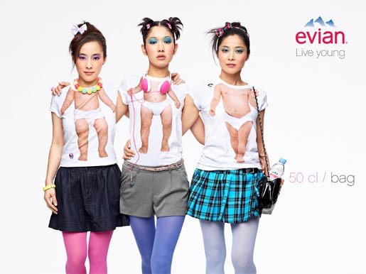 Evian Live Young Bag