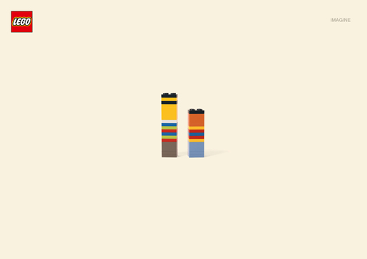 Lego Imagine Bert and Ernie