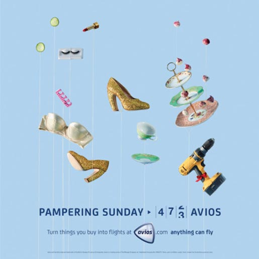 Avios Pampering Sunday