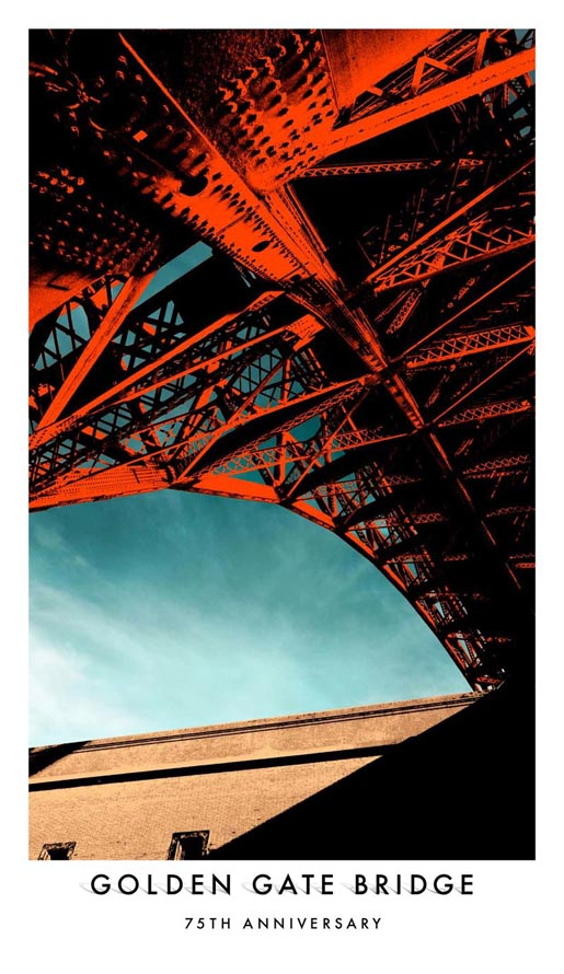 Golden Gate Bridge 75th Anniversary Poster