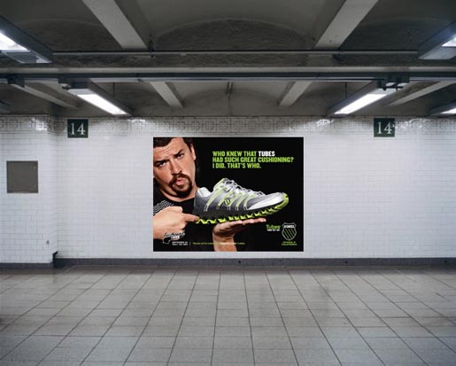 K-Swiss Kenny Powers ES Tubes