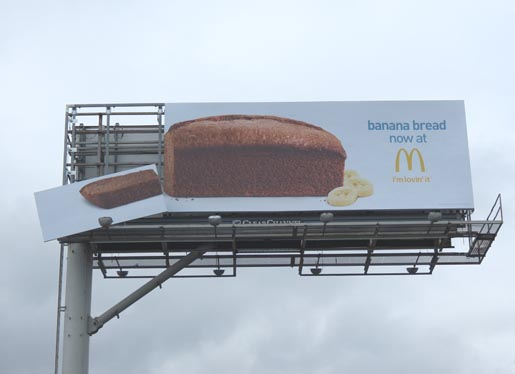 McDonalds Banana Bread