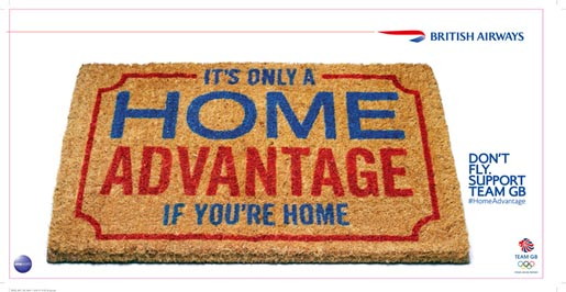 British Airways Home Advantage Welcome Mat