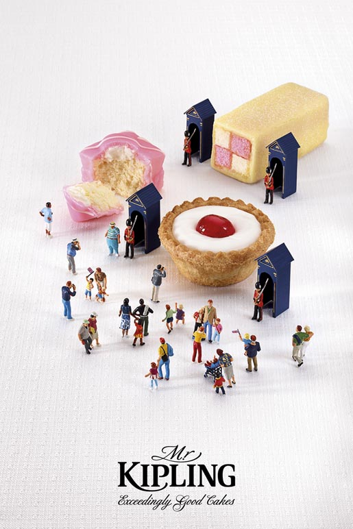 Mr Kipling Jubilee Celebrations Guards ad