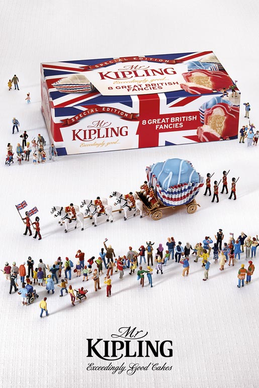 Mr Kipling Jubilee Celebrations Parade ad